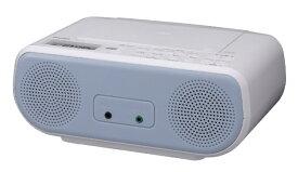 東芝 TOSHIBA CDラジオ TY-C160-L ブルー [ワイドFM対応]