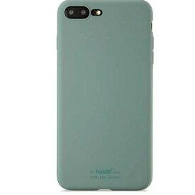 HOLDIT ホールディット iPhone7Plus/8Plus用 ソフトタッチシリコーンケース HOLDIT Moss Green 14516
