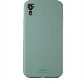 HOLDIT ホールディット iPhoneXR用 ソフトタッチシリコーンケース HOLDIT Moss Green 14523
