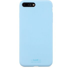 HOLDIT ホールディット iPhone7Plus/8Plus用 ソフトタッチシリコーンケース HOLDIT Light Blue 14708