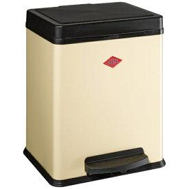 Wesco ウェスコ キッチンペダルビン&プラスチックライナー20L セパレートダブル DOUBLE BIN 380 アーモンド 380411-23