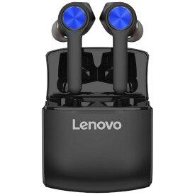 レノボ Lenovo フルワイヤレスイヤホン HT20BL ブルー [リモコン・マイク対応 /ワイヤレス(左右分離) /Bluetooth]