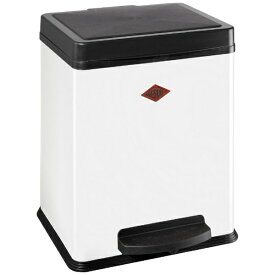 Wesco ウェスコ キッチンペダルビン&プラスチックライナー20L シングル DOUBLE BIN 380 ホワイト 380511-01