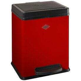Wesco ウェスコ キッチンペダルビン&プラスチックライナー20L シングル DOUBLE BIN 380 レッド 380511-02