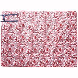 現代百貨 GENDAI HYAKKA Laid-Back キルティング レジャーシート(Sサイズ:1000×1400/レッド) A336RD