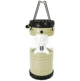 現代百貨 GENDAI HYAKKA LEDランタン ファン機能付き BRIGHT & COOLER(φ85×H260mm/アイボリー) A400IV