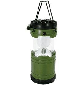 現代百貨 GENDAI HYAKKA LEDランタン ファン機能付き BRIGHT & COOLER(φ85×H260mm/カーキ) A400KH