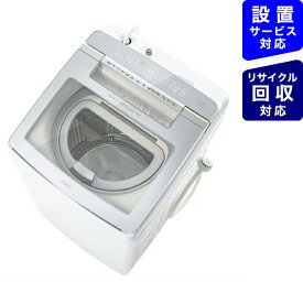 AQUA アクア AQW-GTW110J-W 縦型洗濯乾燥機 ホワイト [洗濯11.0kg /乾燥5.5kg /ヒーター乾燥(排気タイプ) /上開き]