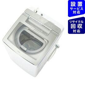 AQUA アクア AQW-GTW100J-W 縦型洗濯乾燥機 ホワイト [洗濯10.0kg /乾燥5.0kg /ヒーター乾燥(排気タイプ) /上開き]