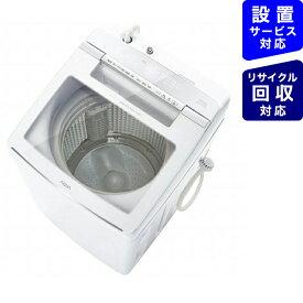 AQUA アクア 全自動洗濯機 GVWシリーズ ホワイト AQW-GVW100J-W [洗濯10.0kg /乾燥機能無 /上開き]