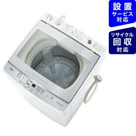 AQUA アクア 全自動洗濯機 フロストシルバー AQW-GV90JBK-FS [洗濯9.0kg /乾燥機能無 /上開き]【point_rb】