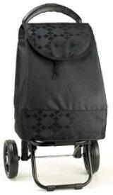 HIRANO 15161-06黒/黒 バレンチノヴィスカーニ/保冷ショッピングカート 黒/黒 15161-06