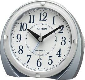 リズム時計 RHYTHM 電波目覚まし時計 「フィットウェーブA439」 4RL439SR04 【フィットウェーブA439】 青 4RL439SR04