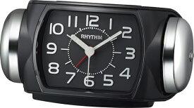 リズム時計 RHYTHM 大音量ベル目覚まし時計 「タフバトラー647」 8RA647SR02 タフバトラー647 黒色 8RA647SR02