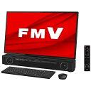 富士通 FUJITSU FMVFXE2B デスクトップパソコン ESPRIMO FH-X/E2(4K・テレビ機能) オーシャンブラック [27型 /HDD:3…