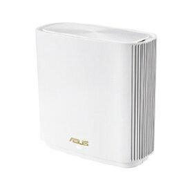 ASUS エイスース Wi-Fiルーター (1個) ZenWiFi XT8/W (1 Pack) ホワイト [Wi-Fi 6(ax)/ac/n/a/g/b]