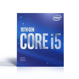 インテル Intel 〔CPU〕 Intel Core i5-10400F BX8070110400F