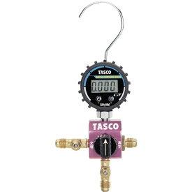 イチネンTASCO ICHINEN TASCO タスコ ボールバルブ式デジタルシングルマニホールドキット TA123DG-1