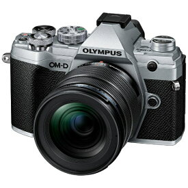 オリンパス OLYMPUS OM-D E-M5 Mark III ミラーレス一眼カメラ 12-45mm F4.0 PRO キット シルバー [ズームレンズ]