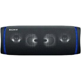 ソニー SONY ブルートゥーススピーカー SRS-XB43 BC ブラック [Bluetooth対応 /防水]
