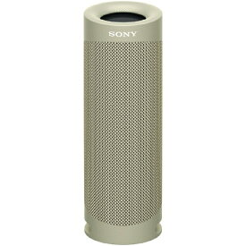 ソニー SONY ブルートゥーススピーカー SRS-XB23 CC ベージュ [Bluetooth対応 /防水]