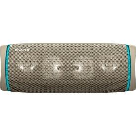 ソニー SONY ブルートゥーススピーカー SRS-XB43 CC ベージュ [Bluetooth対応 /防水]