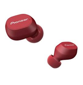 パイオニア PIONEER フルワイヤレスイヤホン SE-C5TW(R) ボルドーレッド [リモコン・マイク対応 /ワイヤレス(左右分離) /Bluetooth]