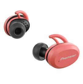 パイオニア PIONEER フルワイヤレスイヤホン SE-E9TW(P) ピンク [リモコン・マイク対応 /ワイヤレス(左右分離) /Bluetooth]
