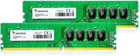 ADATA エイデータ 増設メモリ デスクトップ用 AD4U266638G19-D [DIMM DDR4 /8GB /2枚]