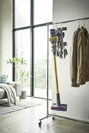 山崎実業 Yamazaki プレート コードレスクリーナー&ツールハンガー(Cordless Cleaner & Tools Hanger) ホワイト 04901