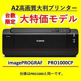 キヤノン CANON PRO-1000 インクジェットプリンター 【数量限定キャンペーンモデル】 imagePROGRAF [L判〜A2ノビ]