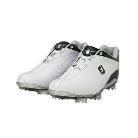 フットジョイ FootJoy 24.5cm レディース ゴルフシューズ DJ Boa(ホワイト×ブラック)