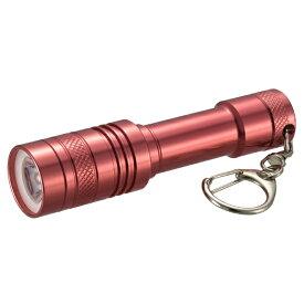 オーム電機 OHM ELECTRIC LEDミニライト レッド LH-MY41-R [LED /単4乾電池×1 /防水]