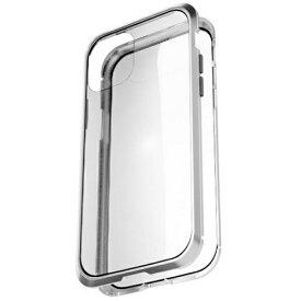 AREA エアリア iPhone 11 用 360 STRONG 2 ガラスパネル バンパーケース エアリア シルバー MS-B2G11-SL