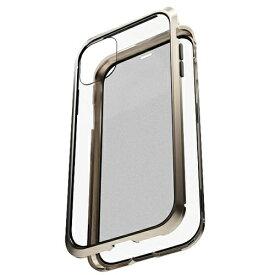 AREA エアリア iPhone 11 用 360 STRONG 2 ガラスパネル バンパーケース エアリア ゴールド MS-B2G11-GD