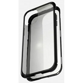 AREA エアリア iPhone 11 Pro 用 360 STRONG 2 ガラスパネル バンパーケース エアリア ブラック MS-B2G11P-BK