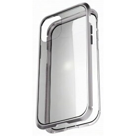 AREA エアリア iPhone 11 Pro 用 360 STRONG 2 ガラスパネル バンパーケース エアリア シルバー MS-B2G11P-SL