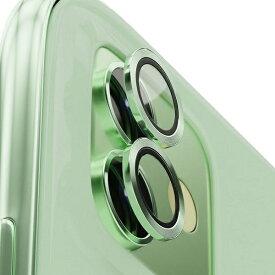 AREA エアリア iPhone 11用背面カメラレンズプロテクター エアリア グリーン ICPT11-GR