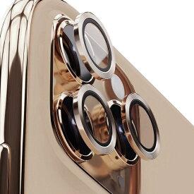 AREA エアリア iPhone 11Pro/11ProMax用背面カメラレンズプロテクター エアリア ゴールド ICPT11P-GLD