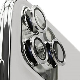 AREA エアリア iPhone 11Pro/11ProMax用背面カメラレンズプロテクター エアリア シルバー ICPT11P-SL