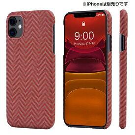 PITAKA iPhone 11 用 アラミドケース PITAKA レッド/オレンジ KI1107R