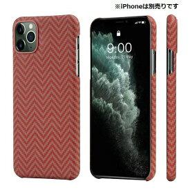PITAKA iPhone 11 Pro 用 アラミドケース PITAKA レッド/オレンジ KI1107