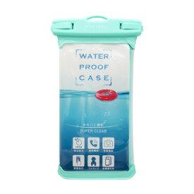 OWLTECH オウルテック MOTTERU スマートフォン用防水ケース IPX8取得で完全防水 MOTTERU ブルーグリーン MOT-WPC002-GB