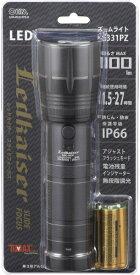 オーム電機 OHM ELECTRIC LEDズームライト LHA-KS331PZ-K [LED /単3乾電池×3 /防水]