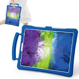 エレコム ELECOM 11インチ iPad Pro(第2世代)用 子供用 抗菌シリコンケース スタンド付 ブルー TB-A20PMSCSHBU