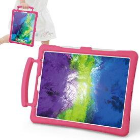 エレコム ELECOM 11インチ iPad Pro(第2世代)用 子供用 抗菌シリコンケース スタンド付 ピンク TB-A20PMSCSHPN