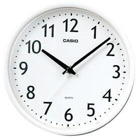 カシオ CASIO 掛け時計 ホワイト IQ-58-7JF[IQ587JF]