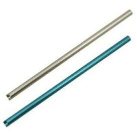 アイデアセキカワ SEKIKAWA アルミクールストローショート(お掃除ブラシ付)SL/BL シルバー/ブルー