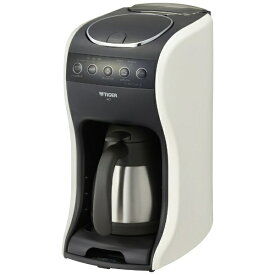 【2020年08月21日発売】 タイガー TIGER ACT-E040WM コーヒーメーカー クリームホワイト