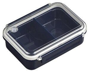 オーエスケー OSK まるごと冷凍弁当タイトボックス(仕切付)500ml ネイビー PCL-1S